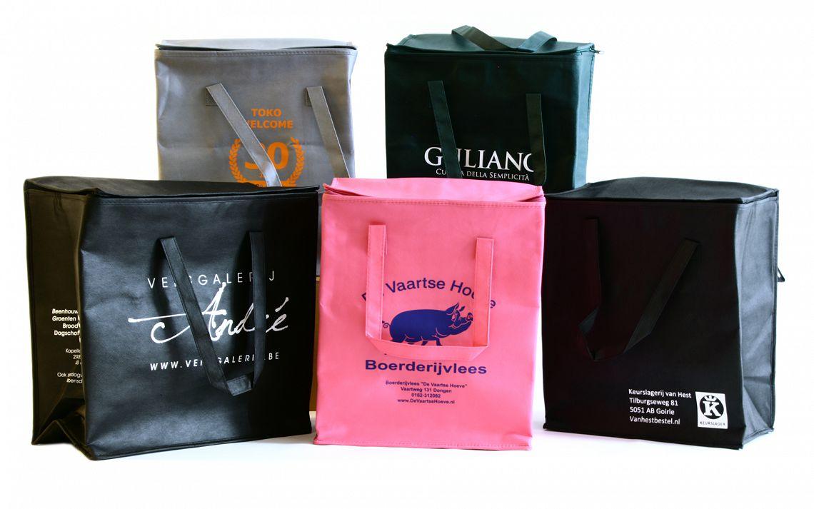 Bedrukte koeltassen | Brabo Verpakking
