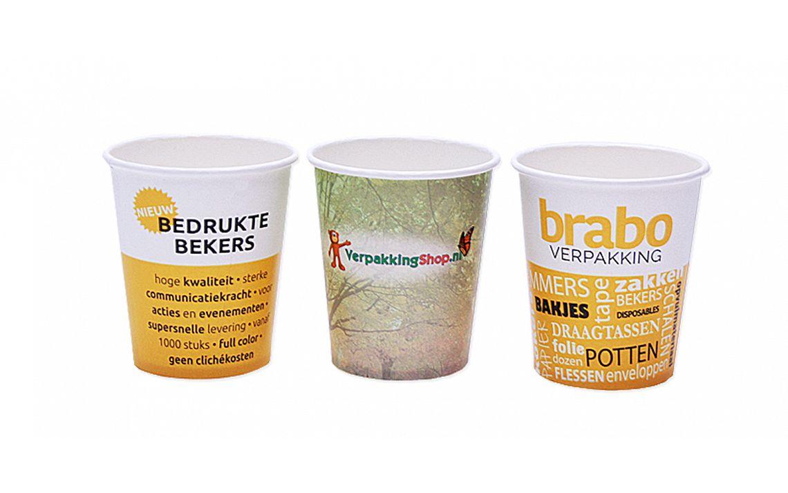 Bedrukte koffiebekers | Brabo Verpakking