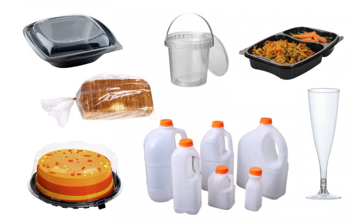 Plastic verpakkingen voor voedsel
