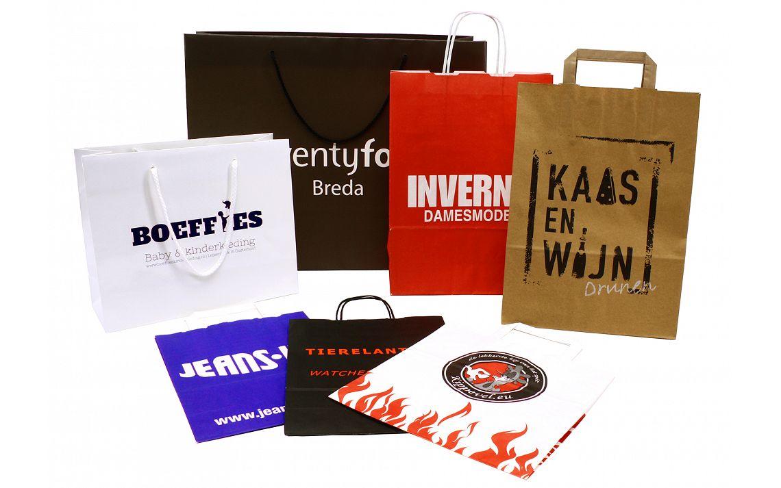Papieren tassen bedrukken met uw logo