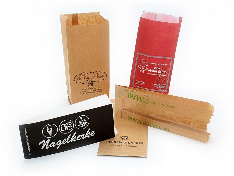 Bedrukte papieren zakken brabo verpakking for Papieren zakken bedrukken