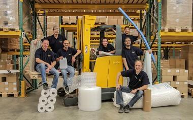 Brabo Verpakking team magazijn